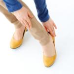 脚やせ目的でアルコペディコの靴を買ったのに、残念ながら、即・靴擦れしてしまった