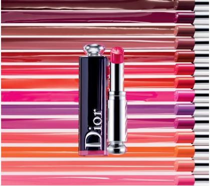 Diorの名前入り刻印リップ