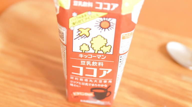豆乳飲料ココア