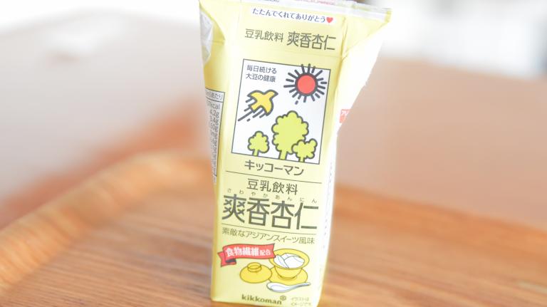 豆乳飲料爽香杏仁